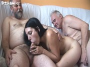 Strikame.cz – 6 Old Men vs Young Hottie