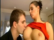 Hot brunette Anita Queen has a hairy wet pussy